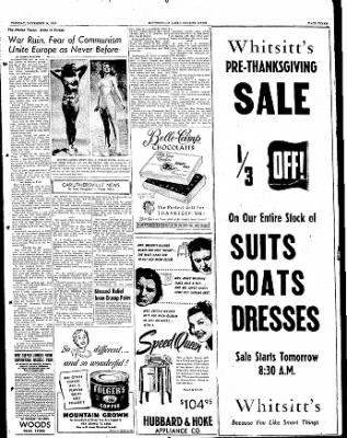 The Courier News from Blytheville, Arkansas on November 14, 1950 · Page 3