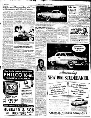 The Courier News from Blytheville, Arkansas on November 15, 1950 · Page 2