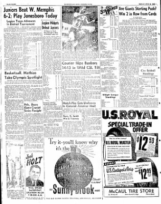 The Courier News from Blytheville, Arkansas on July 25, 1952 · Page 8