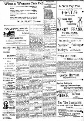 Logansport Pharos-Tribune from Logansport, Indiana on April 6, 1895 · Page 8