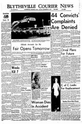 The Courier News from Blytheville, Arkansas on September 19, 1966 · Page 1