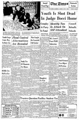 Bocci Len times from san mateo california on july 2 1968 page 44