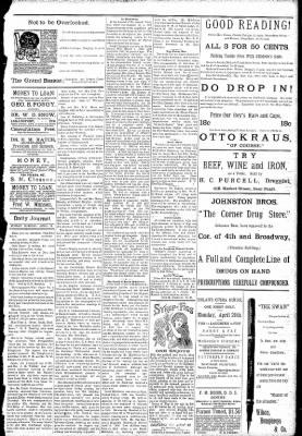 Logansport Pharos-Tribune from Logansport, Indiana on April 19, 1891 · Page 5