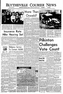 The Courier News from Blytheville, Arkansas on November 22, 1966 · Page 1