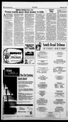 The South Bend Tribune From South Bend Indiana On June 7 1999 24