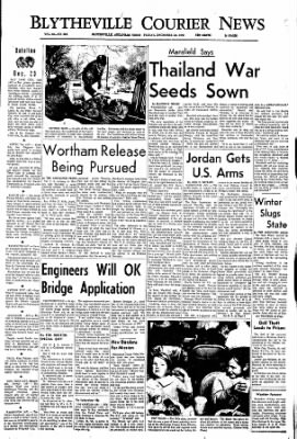 The Courier News from Blytheville, Arkansas on December 23, 1966 · Page 1