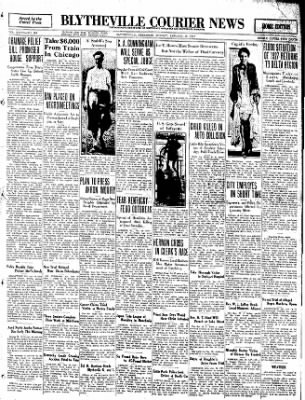 The Courier News from Blytheville, Arkansas on January 18, 1932 · Page 1