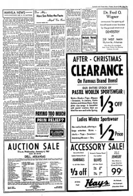 The Courier News from Blytheville, Arkansas on January 3, 1967 · Page 3