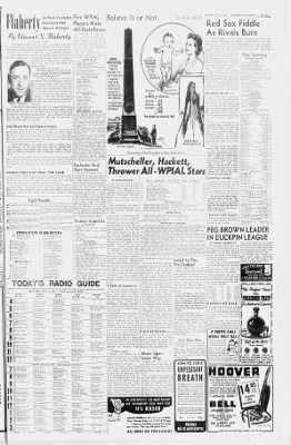 Pittsburgh Sun-Telegraph from Pittsburgh, Pennsylvania on December 11, 1947 · 33
