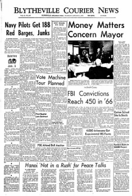 The Courier News from Blytheville, Arkansas on January 5, 1967 · Page 1