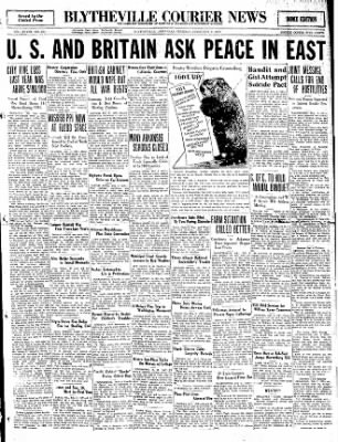 The Courier News from Blytheville, Arkansas on February 2, 1932 · Page 1