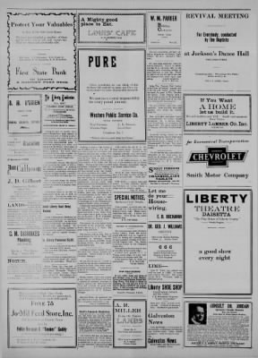The Liberty Vindicator from Liberty, Texas on July 24, 1925 · Page 2