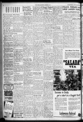 The Herald News From Passaic New Jersey On November 10 1943 6