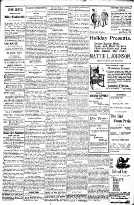 Logansport Pharos-Tribune from Logansport, Indiana on December 24, 1897 · Page 21