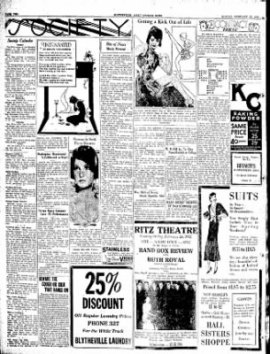 The Courier News from Blytheville, Arkansas on February 22, 1932 · Page 2