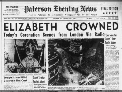 Clip of the Day: Elizabeth II is crowned as queen