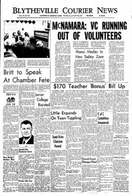 The Courier News from Blytheville, Arkansas on January 26, 1967 · Page 1