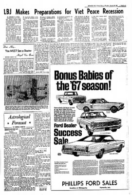 The Courier News from Blytheville, Arkansas on January 26, 1967 · Page 6
