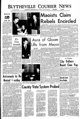 The Courier News from Blytheville, Arkansas on January 30, 1967 · Page 1
