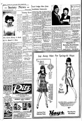 The Courier News from Blytheville, Arkansas on January 30, 1967 · Page 4
