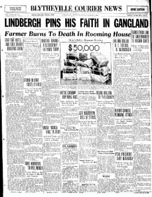 The Courier News from Blytheville, Arkansas on March 7, 1932 · Page 1