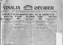 Visalia Morning Courier