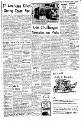 The Courier News from Blytheville, Arkansas on February 11, 1967 · Page 4