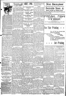Logansport Pharos-Tribune from Logansport, Indiana on April 10, 1895 · Page 3