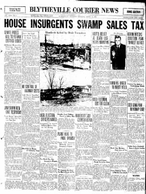 The Courier News from Blytheville, Arkansas on March 24, 1932 · Page 1