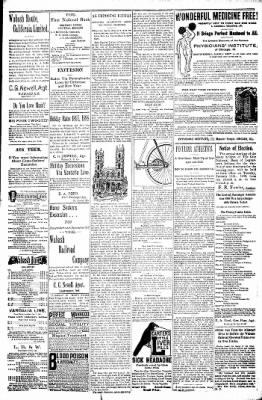 Logansport Pharos-Tribune from Logansport, Indiana on December 25, 1897 · Page 23