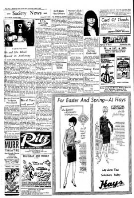 The Courier News from Blytheville, Arkansas on March 9, 1967 · Page 4