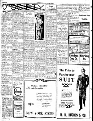 The Courier News from Blytheville, Arkansas on April 7, 1932 · Page 2