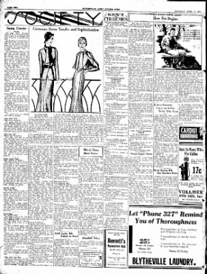 The Courier News from Blytheville, Arkansas on April 9, 1932 · Page 4
