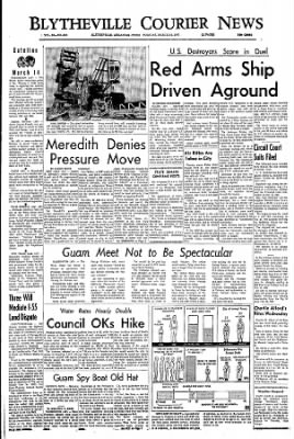 The Courier News from Blytheville, Arkansas on March 14, 1967 · Page 1