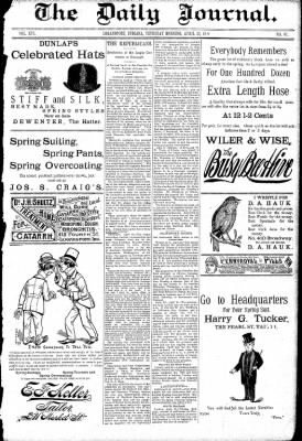 Logansport Pharos-Tribune from Logansport, Indiana on April 23, 1891 · Page 1
