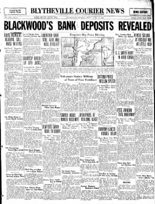 The Courier News from Blytheville, Arkansas on April 15, 1932 · Page 1