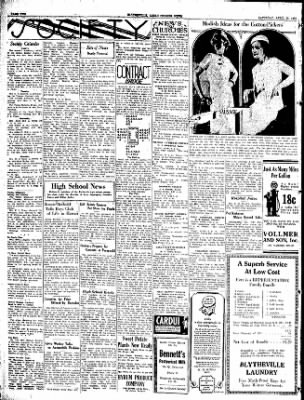 The Courier News from Blytheville, Arkansas on April 23, 1932 · Page 2