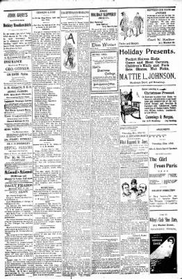 Logansport Pharos-Tribune from Logansport, Indiana on December 27, 1897 · Page 5