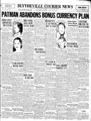 The Courier News from Blytheville, Arkansas on May 3, 1932 · Page 1