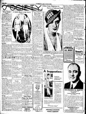 The Courier News from Blytheville, Arkansas on May 10, 1932 · Page 2
