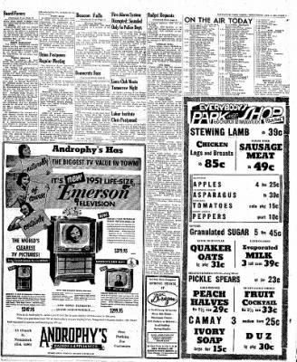 Naugatuck Daily News from Naugatuck, Connecticut on April 4, 1951 · Page 5