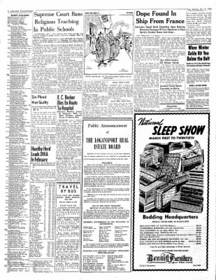 Logansport Pharos-Tribune from Logansport, Indiana on March 9, 1948 · Page 2