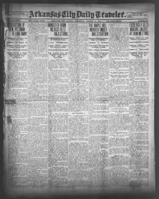 Arkansas City Daily Traveler from Arkansas City, Kansas on August 21, 1919 · Page 1