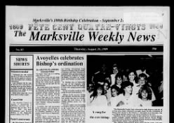 The Marksville Weekly News and Cottonport Leader
