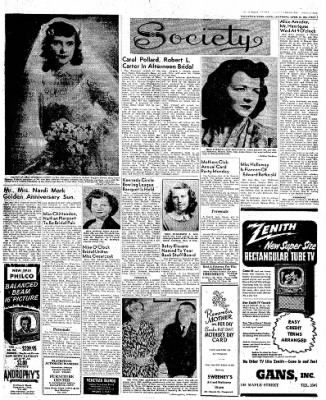 Naugatuck Daily News from Naugatuck, Connecticut on April 21, 1951 · Page 3