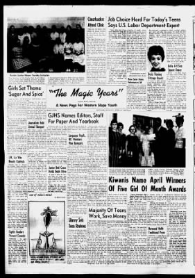 The Daily Sentinel From Grand Junction Colorado On April 21 1962 4