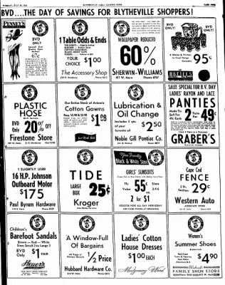 The Courier News from Blytheville, Arkansas on July 29, 1952 · Page 9
