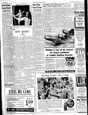 The Courier News from Blytheville, Arkansas on February 7, 1945 · Page 8
