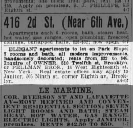 Pellman Bros real estate, Brooklyn Daily Eagle 07 Sep 1906 p13