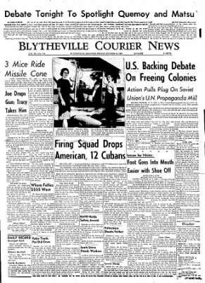 The Courier News from Blytheville, Arkansas on October 13, 1960 · Page 1